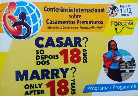 FORCOM realiza Conferência sobre Casamentos Prematuros